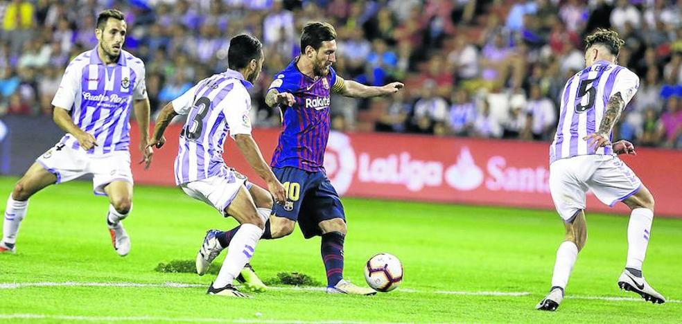 Barça y Pucela vivirán el choque más desigual de la liga