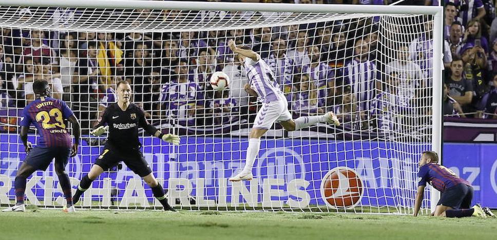 El Real Valladolid intentará aprovecharse del complicado calendario del Barcelona