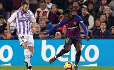 F. C. Barcelona 1 - 0 Real Valladolid