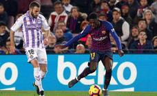 Las imágenes del partido entre el Barcelona y el Real Valladolid