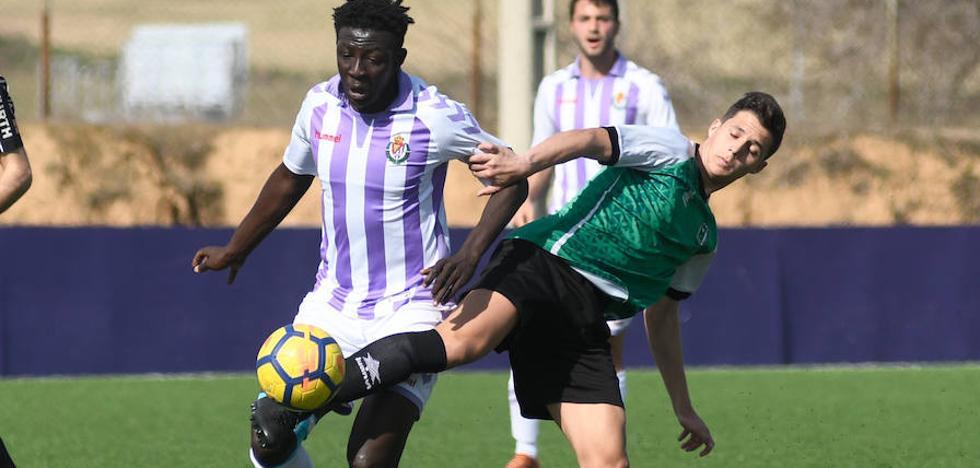 El Valladolid Juvenil se deja llevar antes de golear al colista