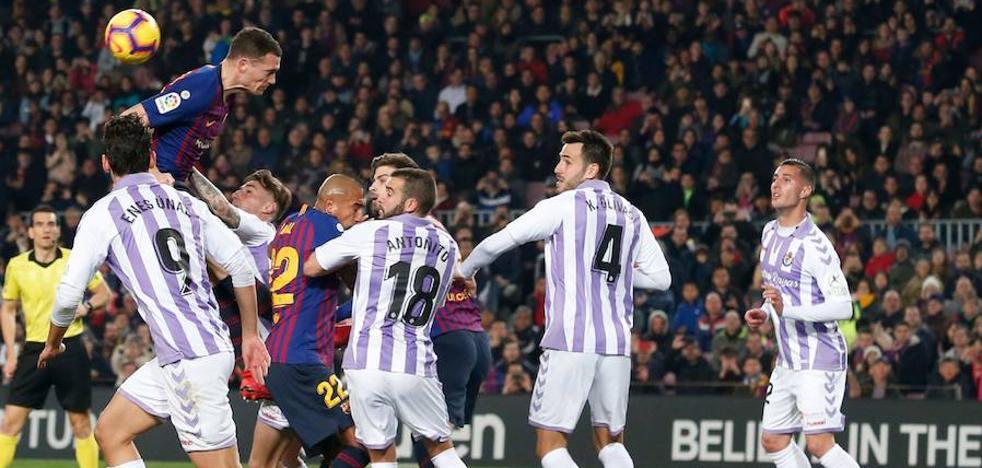 La delantera del Real Valladolid agudiza su sequía