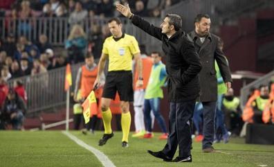 Valverde reconoció que el Barça no tuvo fluidez ofensiva, lo que permitió al Real Valladolid colocarse mejor