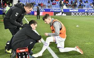 El Real Valladolid pierde a Toni para los próximos tres meses