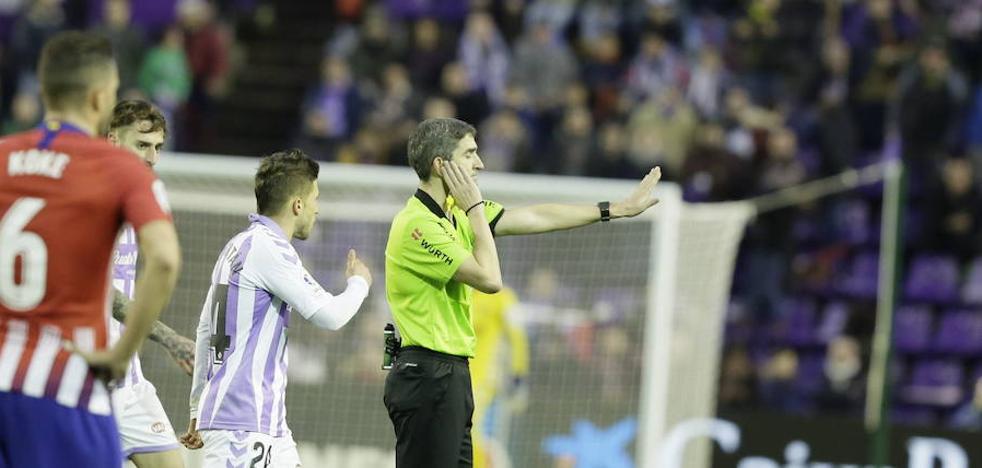 González Fuertes arbitrará el Real Valladolid-Betis