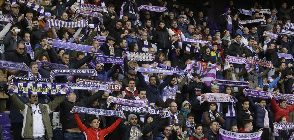 La afición del Real Valladolid volverá a responder para recibir al Betis