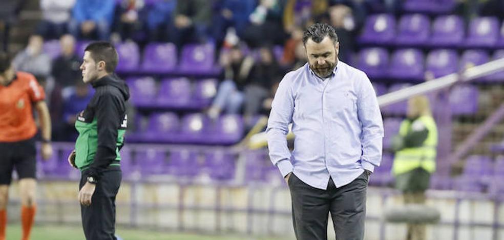 Sergio considera que el fútbol está siendo «muy injusto» con el Real Valladolid