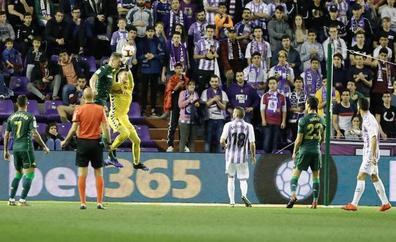 El Real Valladolid se pierde en las primeras partes
