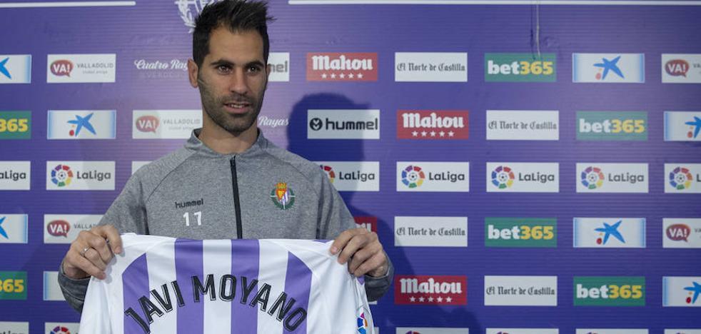 Javi Moyano tras ampliar con el Real Valladolid: «Es un gesto por parte del club y del cuerpo técnico»