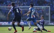 El Real Valladolid jugó contra el Espanyol como el que conduce por Shanghái sin retrovisor