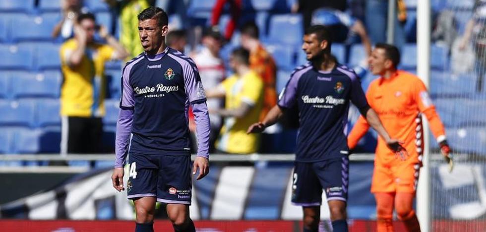 El Real Valladolid cae ante el Espanyol y sigue sin encontrar soluciones a la crisis
