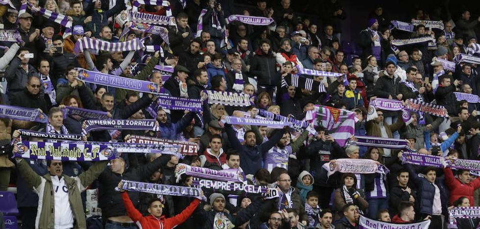 El Real Valladolid mantiene el crédito ante su afición