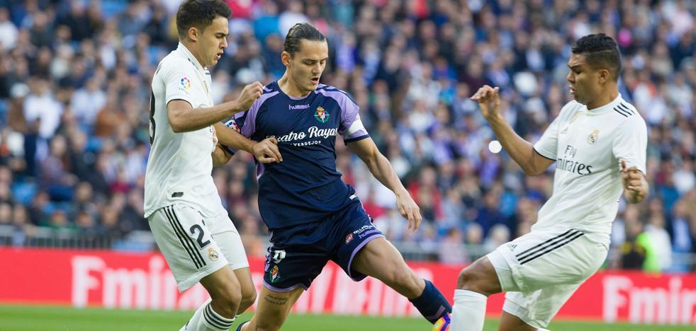 El Real Valladolid y el Madrid enfrentan su fútbol y su estado mental