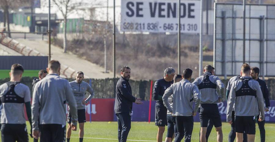Los malos resultados hacen mella en el ánimo del Real Valladolid