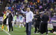 Sergio tras la derrota del Real Valladolid: «Tenemos errores impropios de futbolistas de Primera»