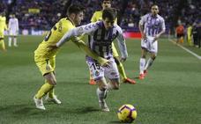 El Real Valladolid pierde a Pablo Hervías para lo que resta de temporada