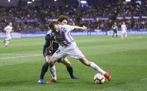 El Real Valladolid juega con mochila