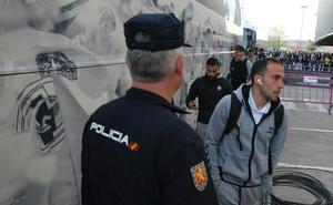 El Real Valladolid se queja de cómo se organizó la llegada de los equipos al último partido