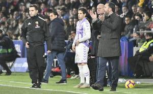 Sergio considera la baja de Hervías tan importante para el Real Valladolid como la de Toni