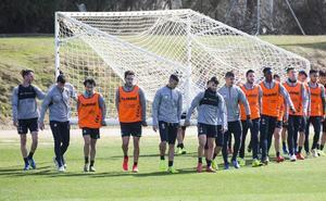 Sergio se lleva a Eibar a todos los disponibles, y a Samu y El Hacen del filial