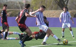 Las contras del Real Valladolid Juvenil desmontan al Adarve