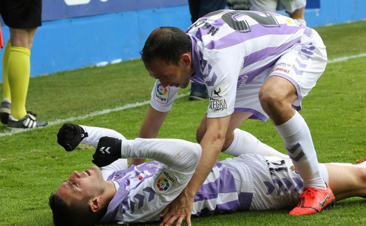 Todas la imágenes de la remontada del Real Valladolid frente al Eibar