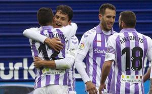 El Real Valladolid remonta con dos goles en los últimos cinco minutos