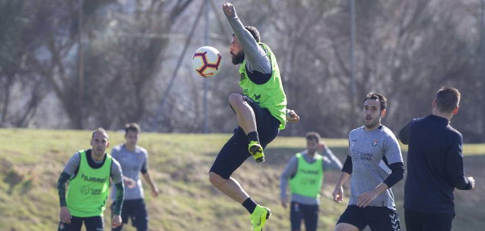 La victoria y la presencia de varios juveniles alegra el entrenamiento del Real Valladolid