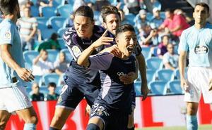 El Real Valladolid anota el 74% de sus goles en las segundas partes