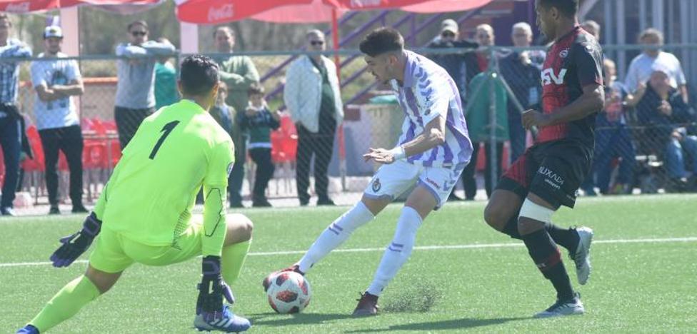 El Real Valladolid B se acerca a la permanencia al ganar al Adarve
