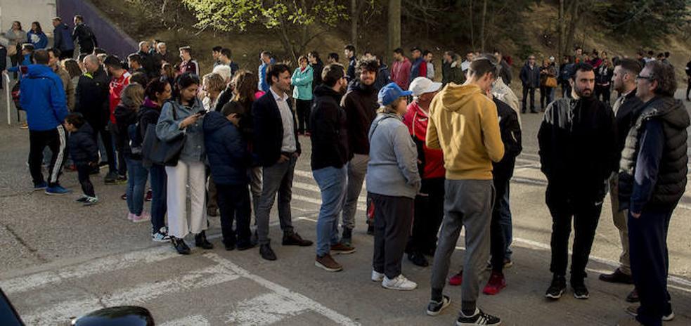 Los aficionados del Real Valladolid agotan las entradas disponibles para el partido de Leganés