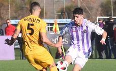 Waldo Rubio ya forma parte del primer equipo del Real Valladolid