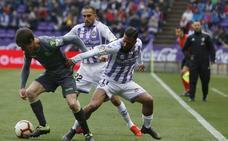 Balón y repliegue; así lo utiliza el Real Valladolid