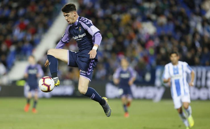 El Leganés vence al Real Valladolid en el descuento (1-0)