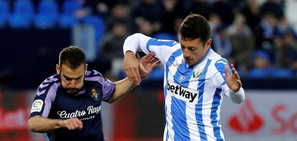 En vídeo, la dolorosa derrota del Real Valladolid en Leganés