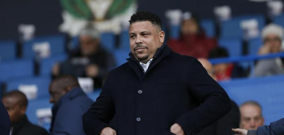 El vestuario del Real Valladolid echa de menos a Ronaldo