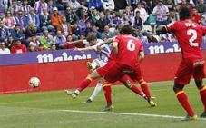 El Real Valladolid sufre otra decepción en el último minuto