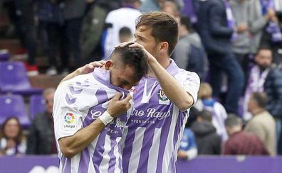 El Real Valladolid sufrió una bofetada que sirve para llorar y confiar
