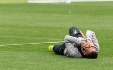 La mala suerte del Real Valladolid no se acaba: Verde, lesionado