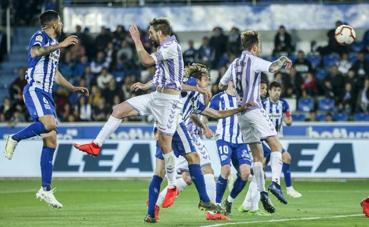 Alavés 2 - 2 Real Valladolid (1/2)