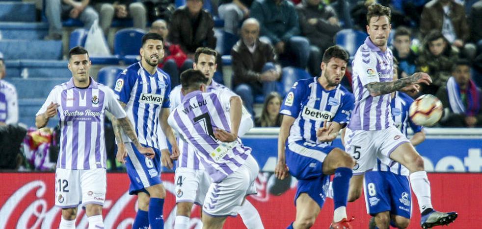 Todos los vídeos del partido entre el Alavés y el Real Valladolid