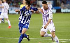 El Real Valladolid recupera el espíritu del ascenso para sumar ante el Alavés