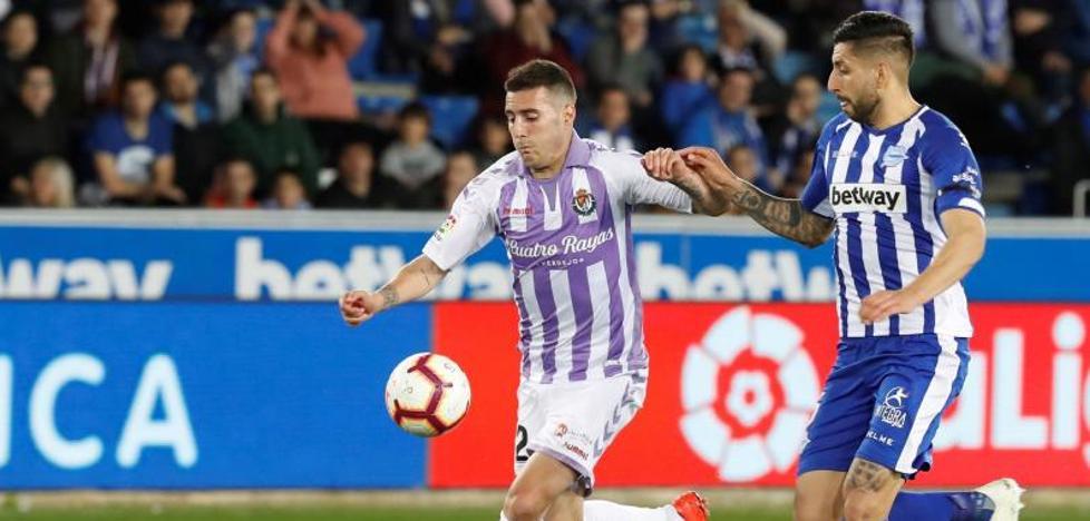 El uno a uno del Real Valladolid en ante el Alavés