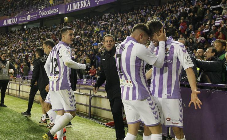 Victoria del Real Valladolid ante el Girona (1-0)