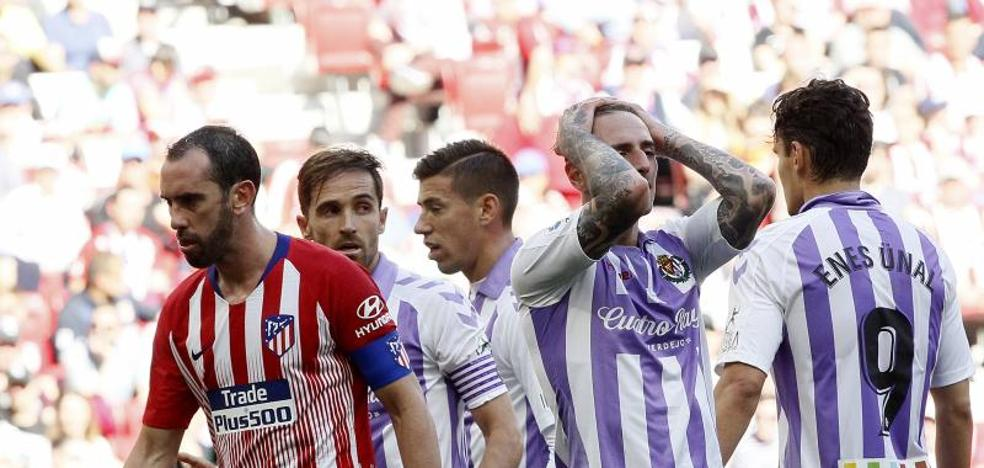 El uno a uno del Real Valladolid ante el Atlético de Madrid