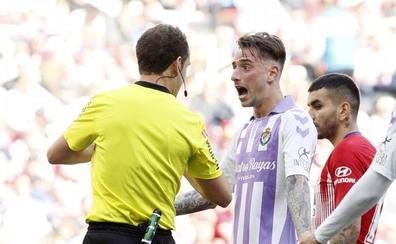 El árbitro le niega los puntos al Real Valladolid