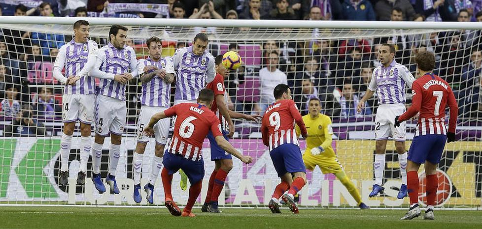 Poco que perder y muchísimo que ganar para el Real Valladolid en el Wanda