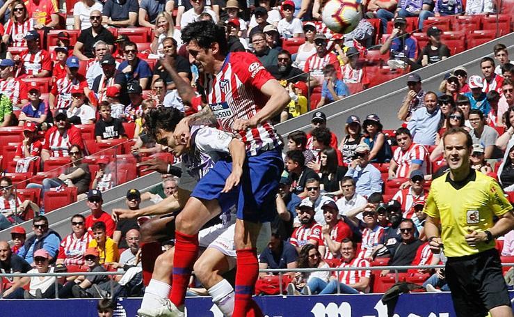 Atlético de Madrid 1-0 Real Valladolid