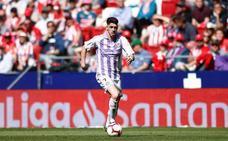 Waldo confía en que el gol, la guinda a su irrupción en el Real Valladolid, llegue este domingo