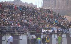 Doble final blanquivioleta en el Estadio y los Anexos por la permanencia